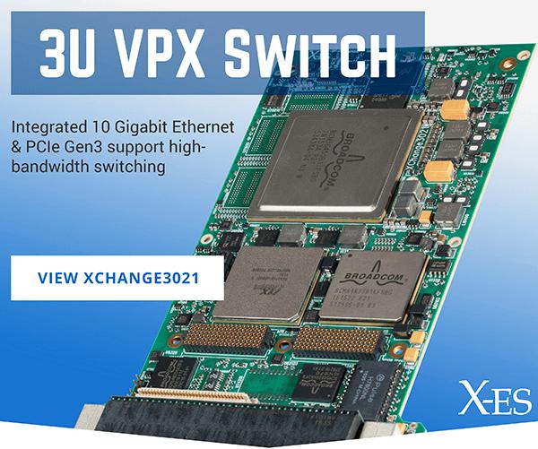 XChange3021 3U VPX Ethernet Switch