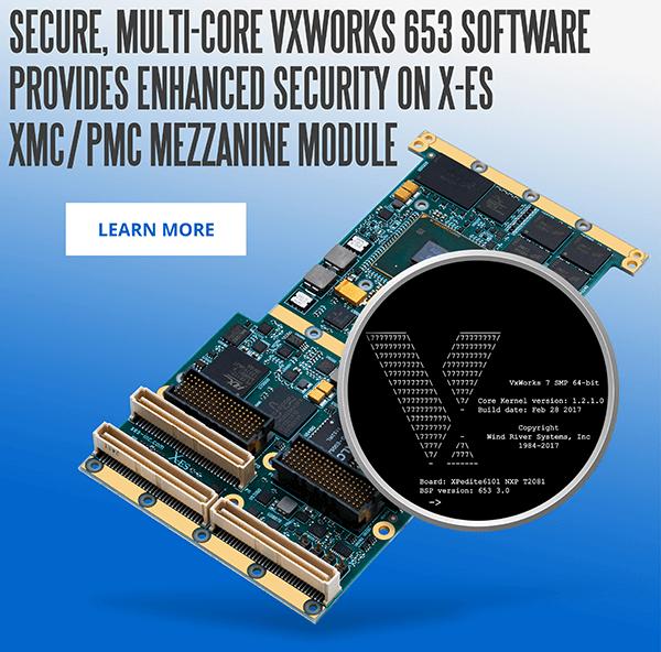 XPedite6101 XMC/PMC Mezzanine Module Supporting Wind River VxWorks 653 BSP