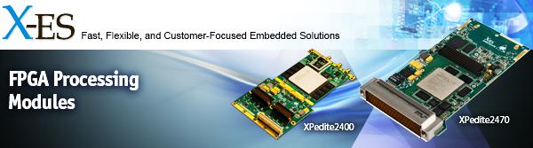 FPGA Processing Modules from X-ES