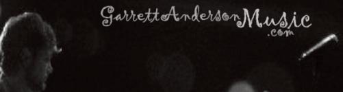 Garrett Anderson Music.com Banner
