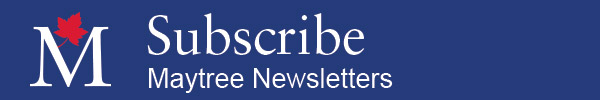 Subscribe to Maytree Newsletters