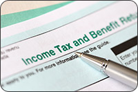 Income Tax and Benefit return form (iStockphoto)