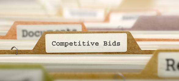 Competitive bids