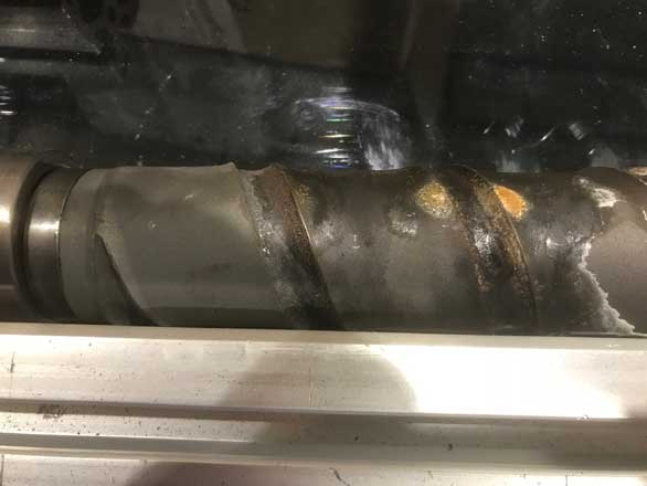 This Chinese screw weld peeled off in 6 months