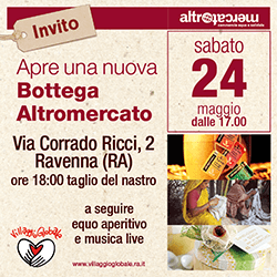 Inaugurazione nuova Bottega via C.Ricci - Ravenna