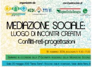 MEDIAZIONE SOCIALE: SEMINARIO REGIONALE