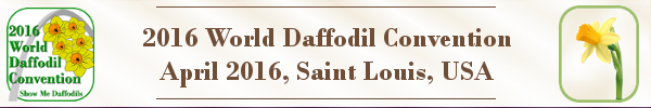 2016 World Daffodil Convention contact header