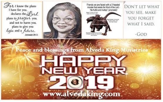 Alveda King 2019 New Year's Blog