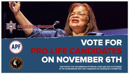 Alveda King - Vote Pro-LIfe