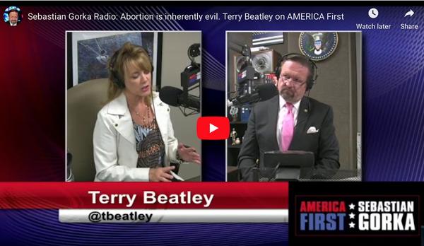 Host Sabastian Gorka interviews Terry Beatley