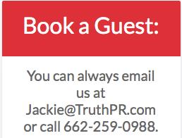 TruthPR.com - Book A Guest
