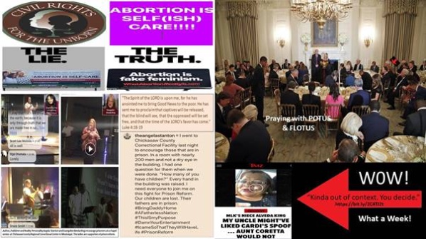 Alveda King Blog: Prison Reform, Abortion, Fake News, and Prayer at the White House