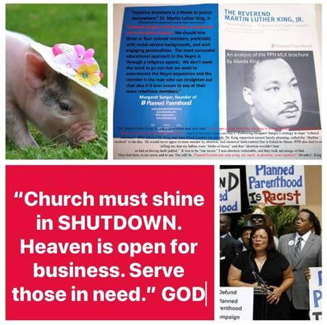 Church Must Shine in Shutdown
