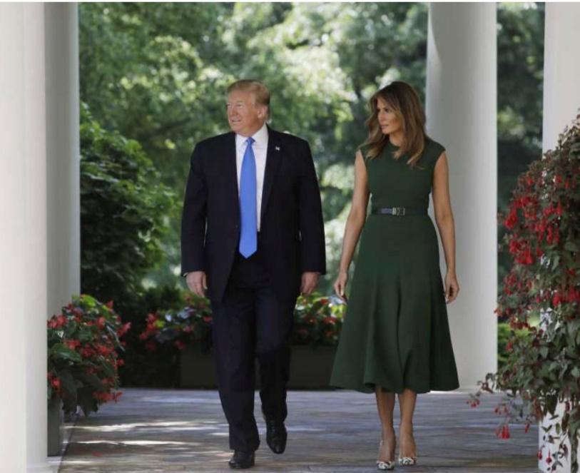 Pres & Mrs. Trump