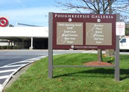 Poughkeepsie Galleria Exterior Wayfinding