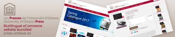 University of Ottawa Press launched