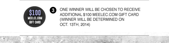 $100 meelec gift card