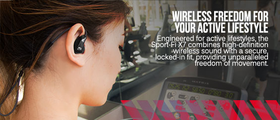 Go Wireless with the X7