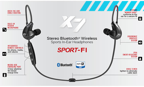 Train Wireless with the X7
