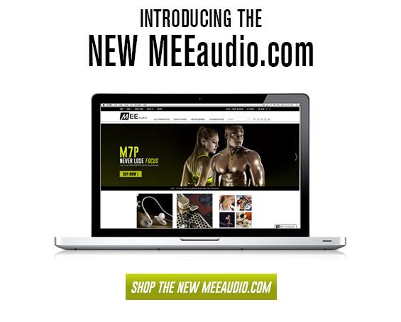 New MEEaudio.com