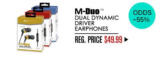M-Duo: Odds ~55%