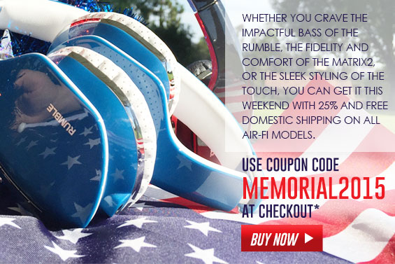 Use coupon code: MEMORIAL2015