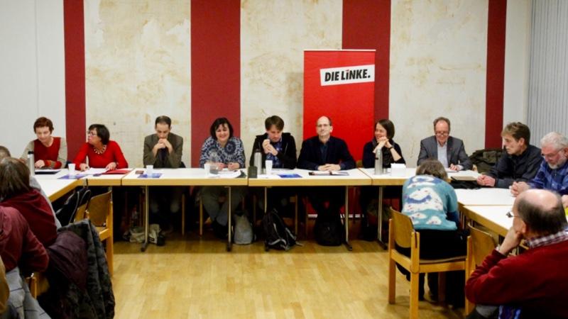 Foto: Regionalversammlung in Kassel zur Vorstellung der Kandidatinnen für die vorderen Listenplätze zur Bundestagswahl