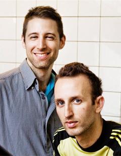 Yossi Berg (th.) & Oded Graf