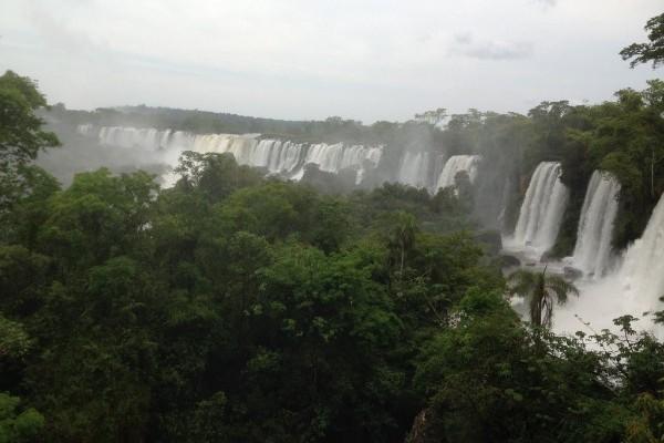 Iguaçu Falls by Hannah Wilson