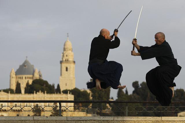 Samurai swords by Akban Martial Arts Academy
