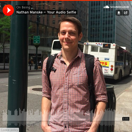 Your Audio Selfie with Nathan Manske