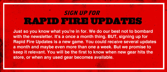 Rapid Fire Updates Sign Up