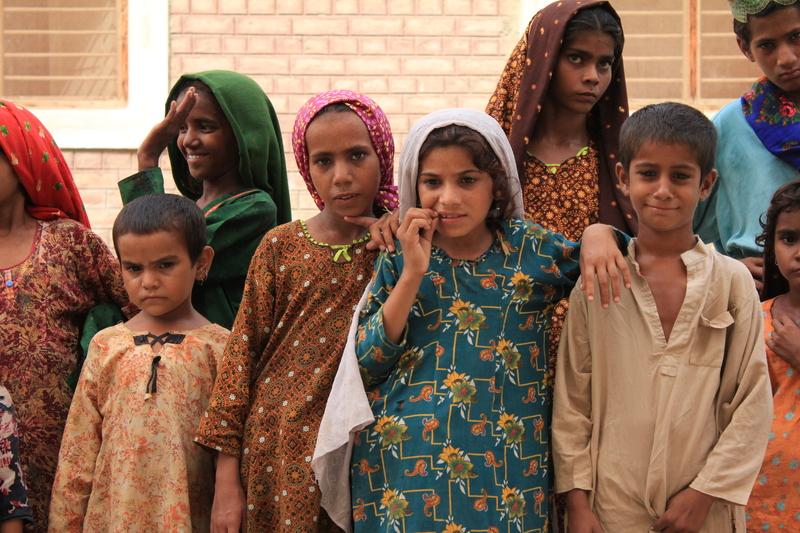 refugee girls in Pakistan