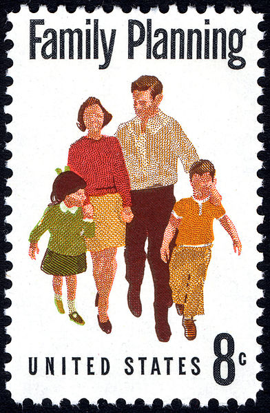 family planning postage stamp