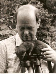 Sir Peter Scott, First Chairman of World Wildlife Fund