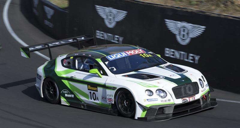 Bentley at the 2017 Liqui-Moly Bathurst 12 Hour