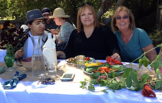 Friend of SPIN, board members, supporters, and parents enjoy a delicious, farm-to-table lunch.