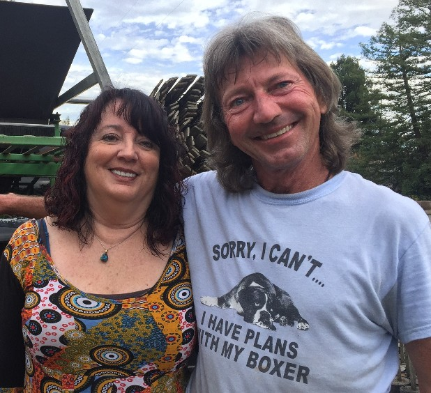 Debbie and Curt smiling.