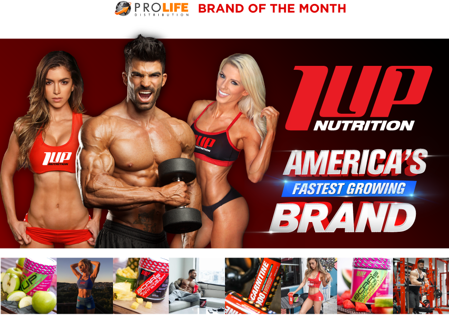 1Up Nutrition - Brand of the Month