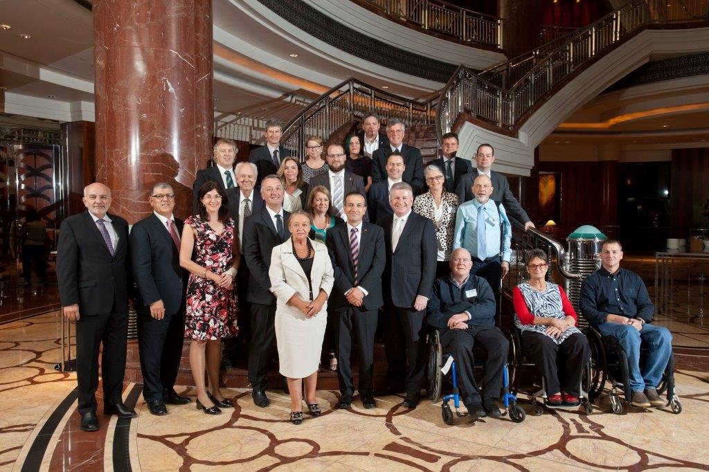 Inaugural Disability Ministers' National Forum delegates