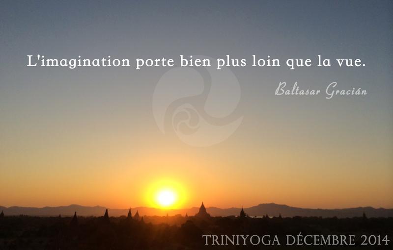 Yoga Paris 10, TriniYoga, Ashtanga Vinyasa - Coucher de soleil sur le temple de Bangan