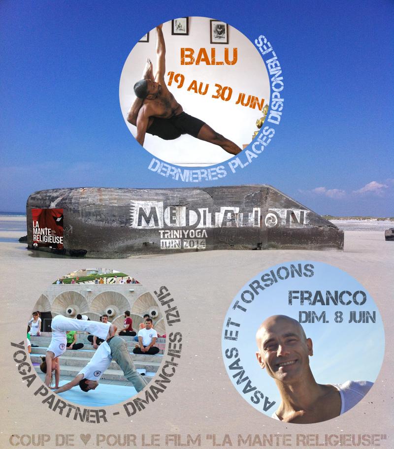 Yoga Paris 10, Ashtanga Vinyasa & Mysore - Programme de juin 2014