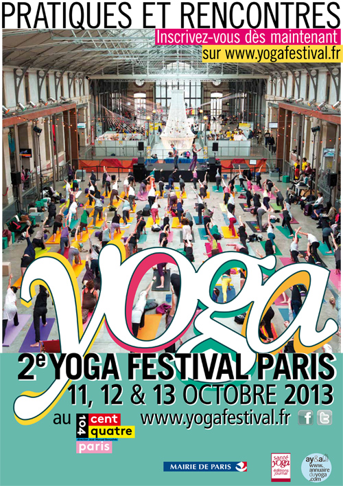 Yoga Festival Paris 2013 du 11 au 13 octobre 2013