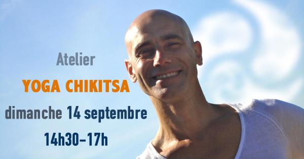 Atelier Yoga Chikitsa avec Franco le dimanche 14 septembre à 14h30