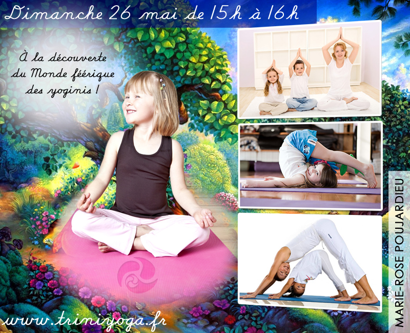 Worshop yoga for parents and children - May 26th