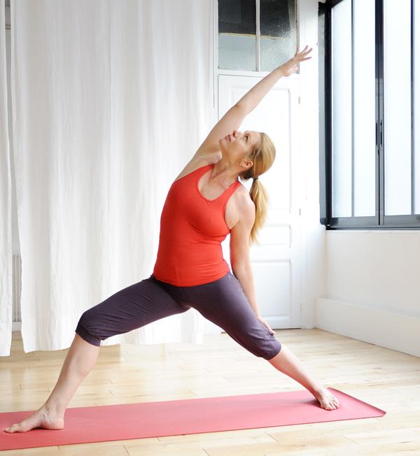 Posture Hatha Yoga par Marie-Rose Poujardieu