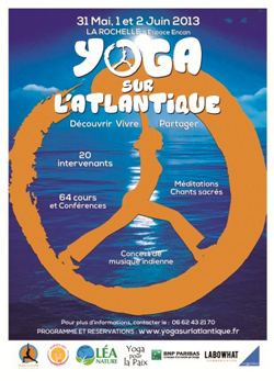 """Rencontre exceptionnelle """"Yoga sur l'Atlantique"""" à la Rochelle"""