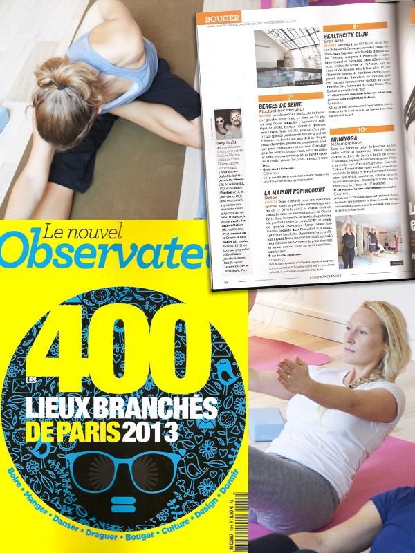 Antoine Flauto, nouveau professeur Trini Yoga Paris