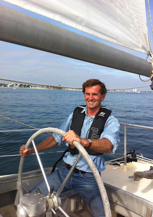 Olivier Galfione en route pour le Yoga Paris Festival 2013