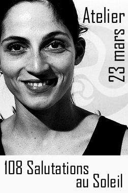 professeur de yoga ashtanga vinyasa Silvia Di Rienzo, 108 Salutations au Soleil